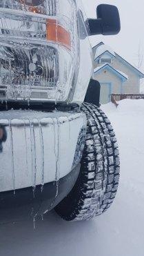 Fairbanks Alaska winter driving