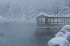 Fairbanks Alaska Winter Chena hot springs