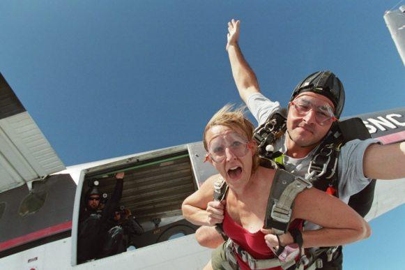 skydiving travel insurance