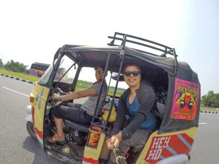 rickshaw run india
