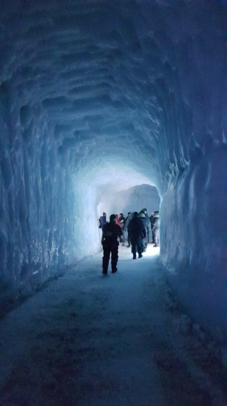 ice tunnel iceland