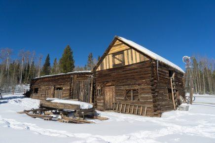 colorado snow shoeing