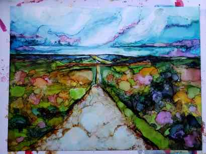 camino de santiago art