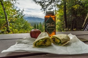 Maine huts and trails food