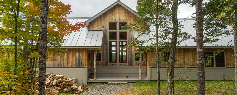 Maine huts and trails grand falls hut