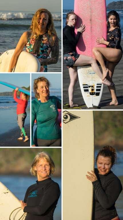 Surf and yoga retreat