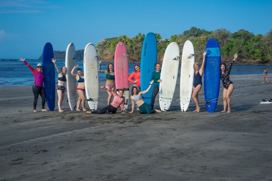 surfing and yoga retreat