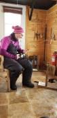 Quebec winter activities ice fishing