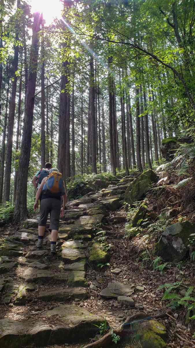 trail difficulty kumano kodo