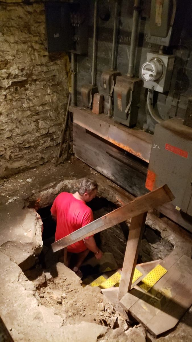 Cincinnati underground tour