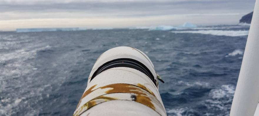 antarctica photo gear