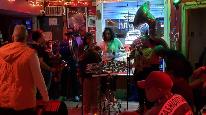 Womens band new orleans