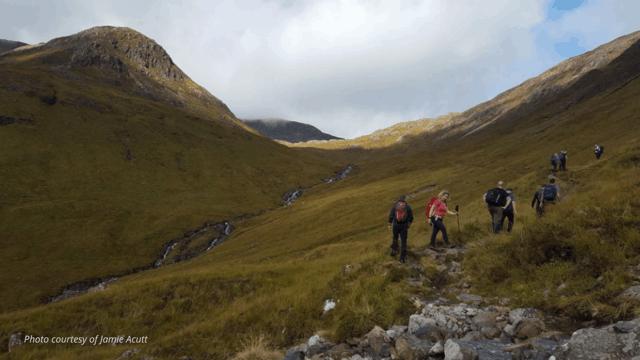 west highland way hiking trail