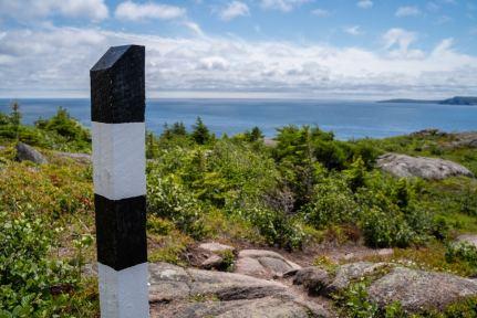 east coast trail marker