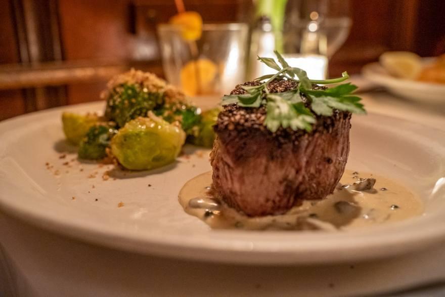 Tornado supper club steak