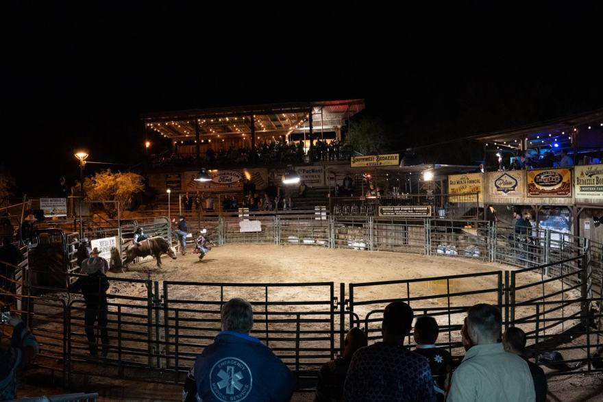 Buffalo Chip Saloon Bull Riding