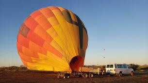 hot air baloon sonoran desert