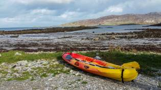 kayaking connemara