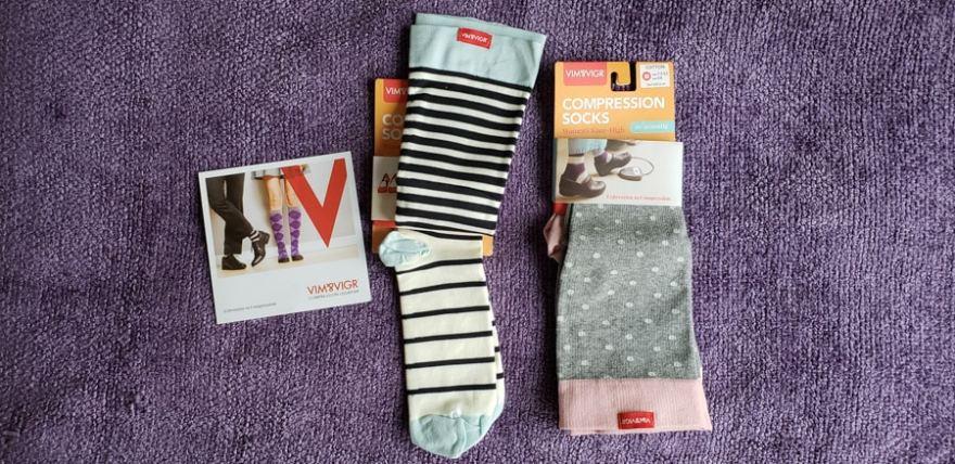 VimVigr Compression Socks for travel