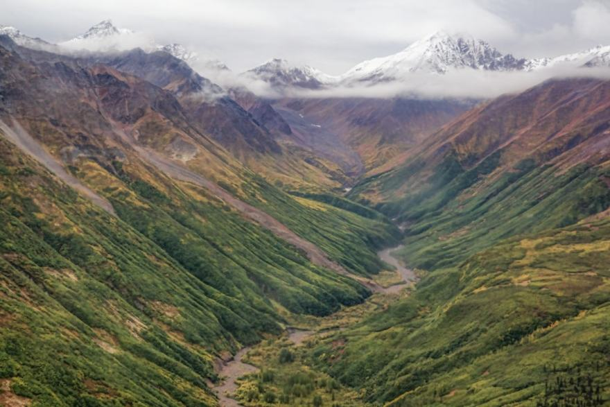 alaska in the fall