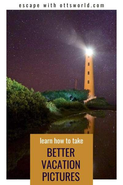 night lighthouse photo