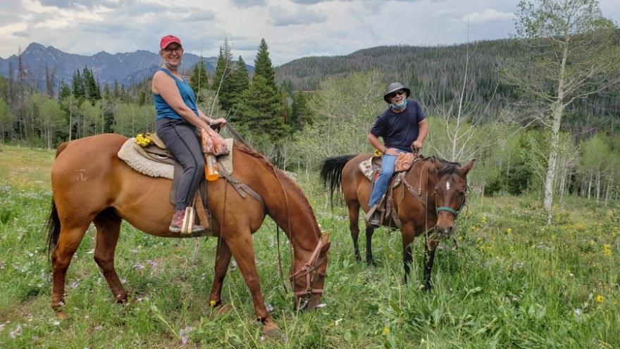horse riding gore range