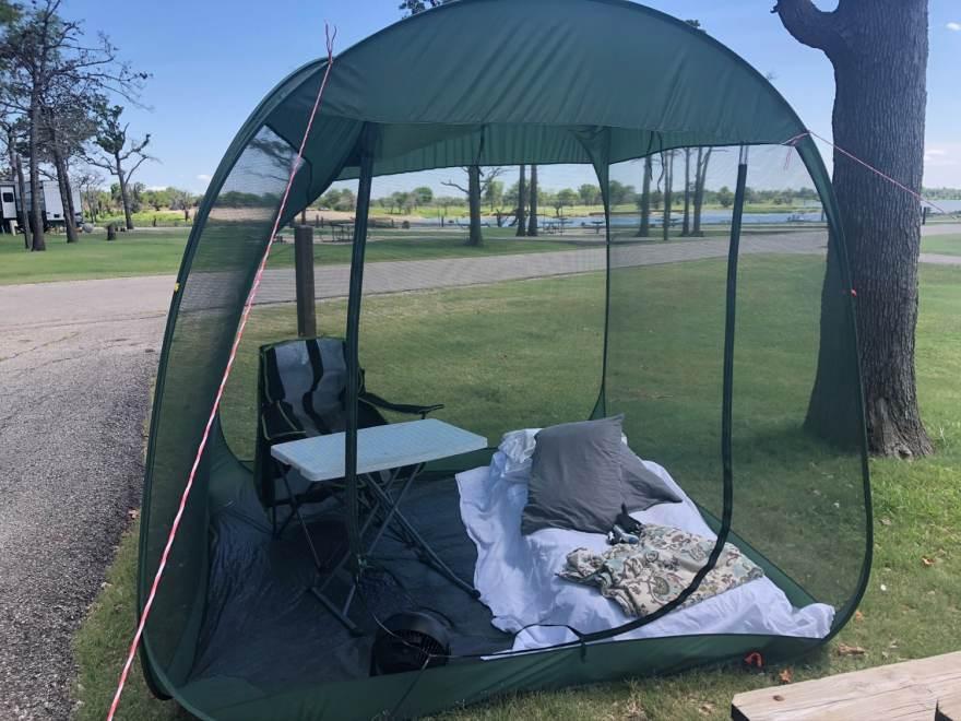 portable tent for campervan