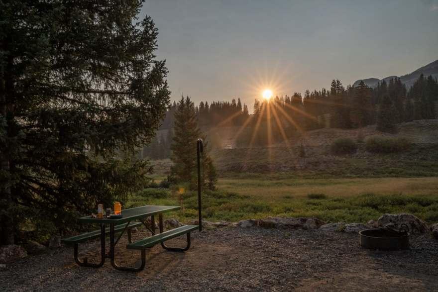 Molas Lake campground