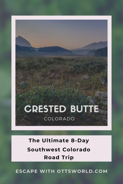 view of Crested Butte, Colorado