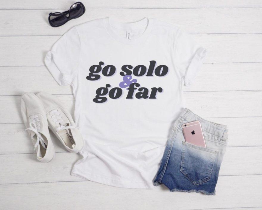 solo travel tshirt