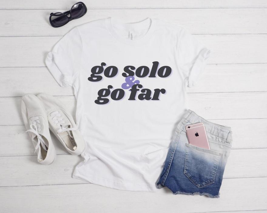 solo travel tshirt