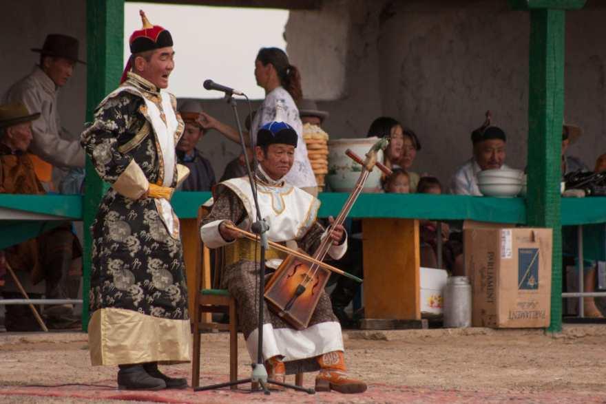 Mongolian musicians
