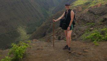 hiking on lanai