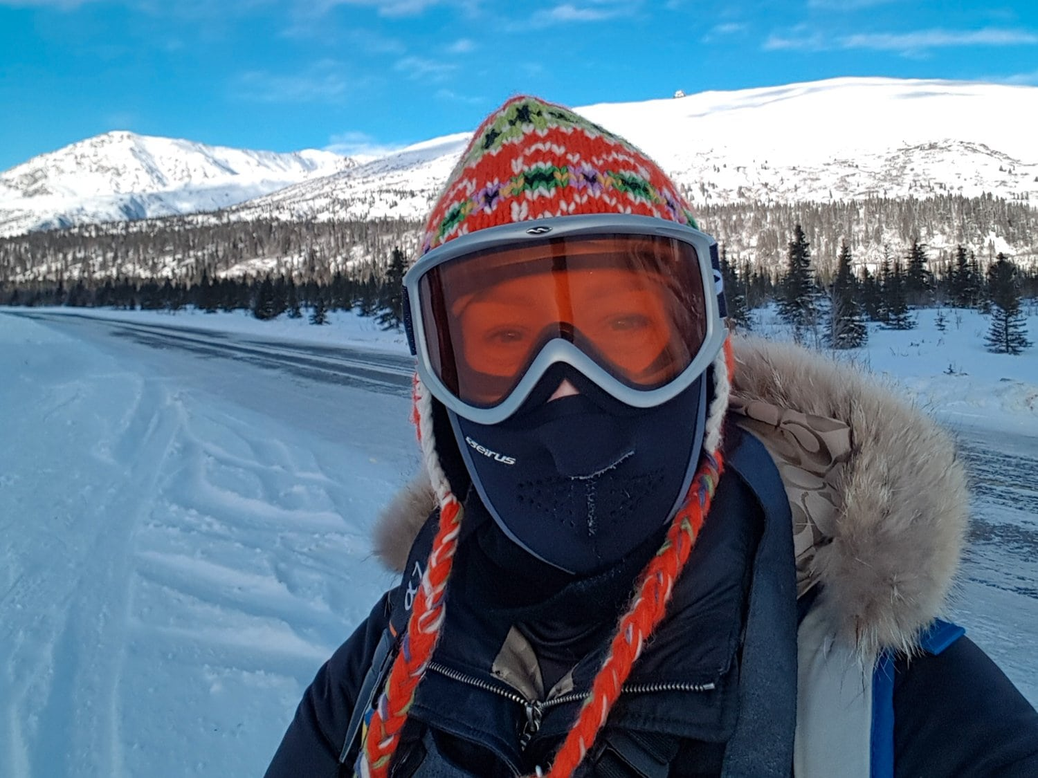 goggles for snowshoeing