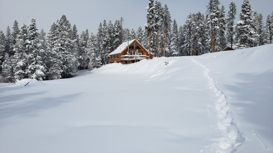 snowshoe trail colorado