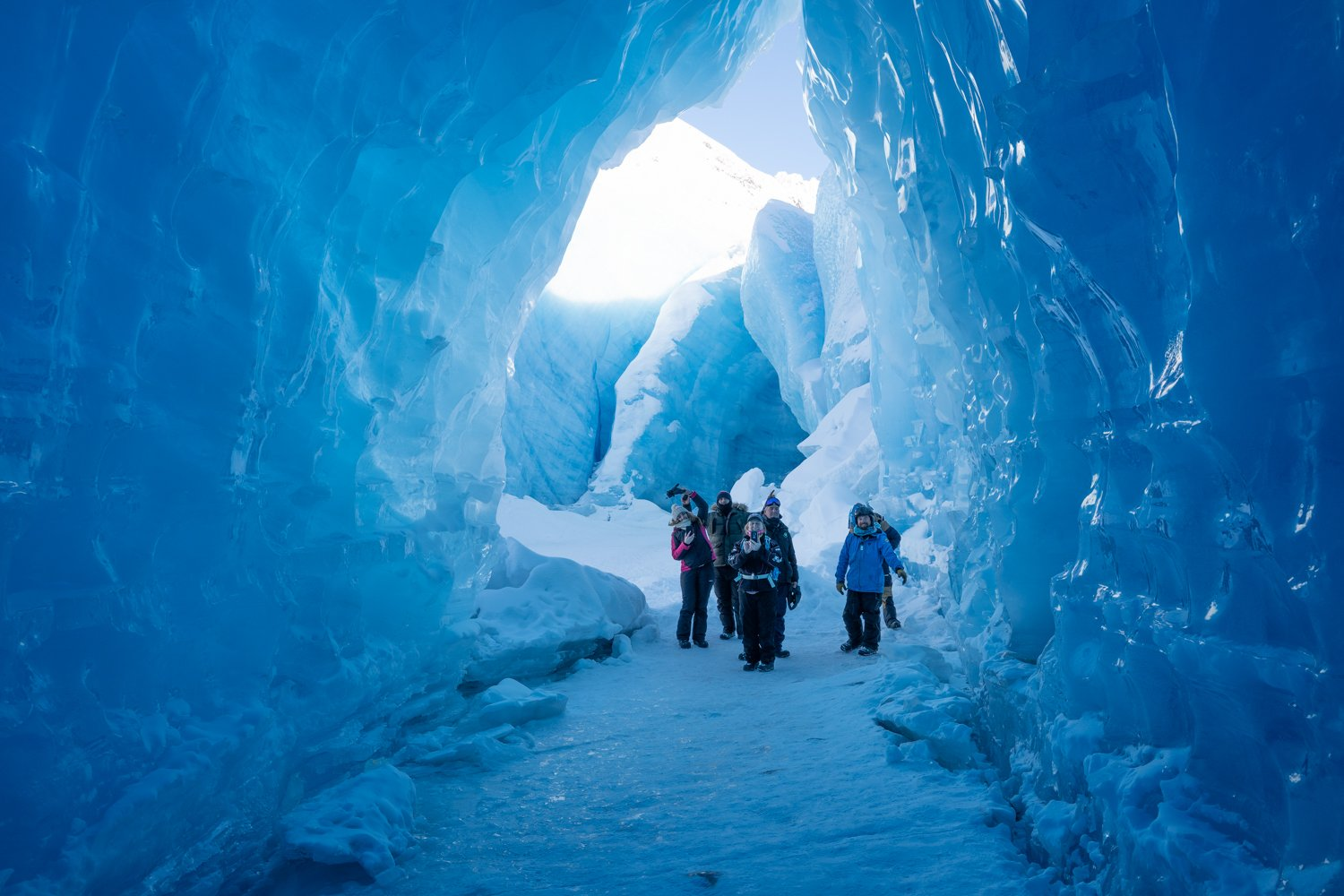 Things to do in anchorage Spencer glacier winter