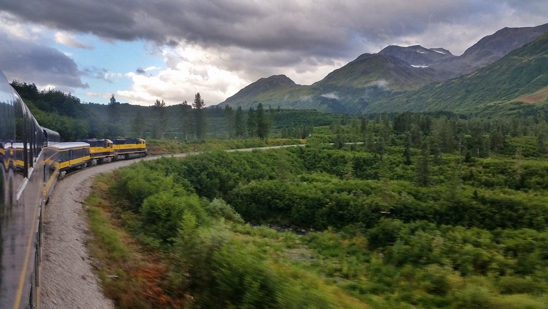 Coastal Classic Alaska Railroad day trip