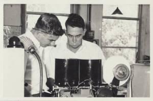 Des Kinnersley Training Keith McCredden 1961