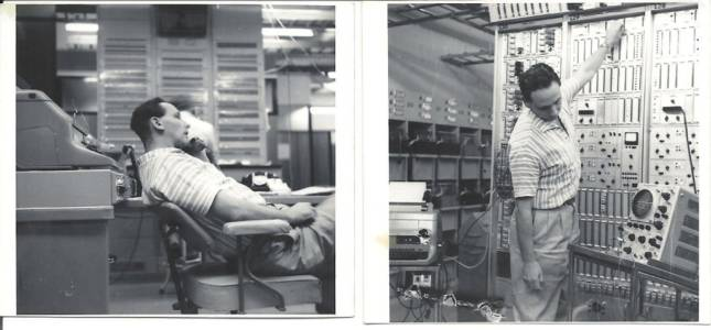 John Grosbard, at work OTC, Sydney. Feb 1964