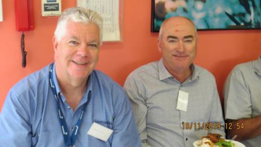 Perth AGM and Luncheon Nov 2019 Ian & Tom