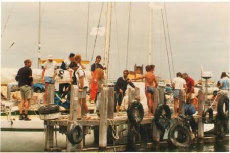 SOYC-058 The OTC Fleet, Fishing Boat Harbour, Fremantle 25-1-1987