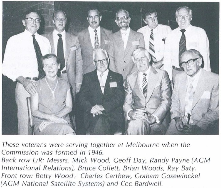Veterans who started together in Melbourne in 1946