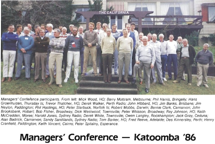 Managers Conference 1986