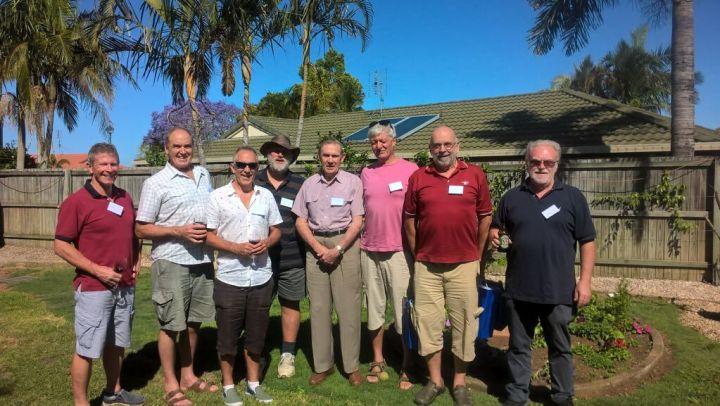 John Toland birthday group