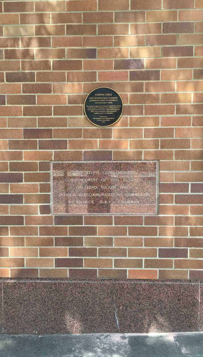 COMPAC Plaque & Foundation Stone