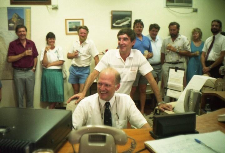 Closing of Rockhampton Radio 1992