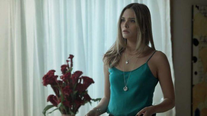 """Simone (Juliana Paiva) em """"A Força do Querer"""" da Globo (Foto: Reprodução)"""