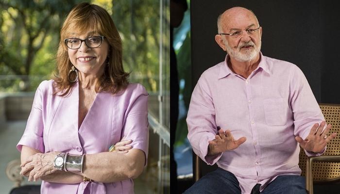 Gloria Perez e Silvio de Abreu (Fotos: Globo/João Cotta/Montagem)