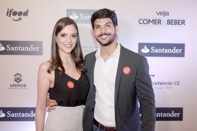 Ana Lúcia Vilela e Lucas (Foto: Reprodução)