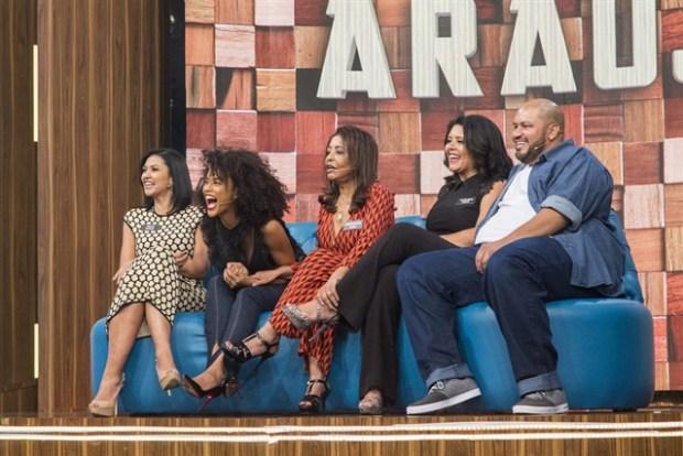 Taís Araújo e família (Foto: Globo/Marilia Cabral)